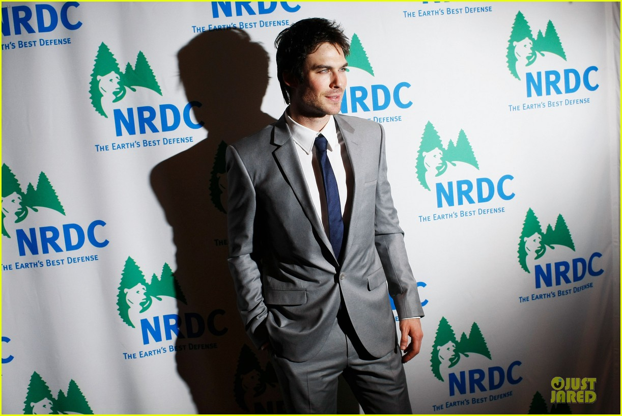 ian somerhalder national resource defense council game changer awards 08
