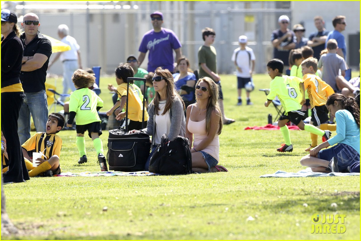 britney spears proud soccer mom 23