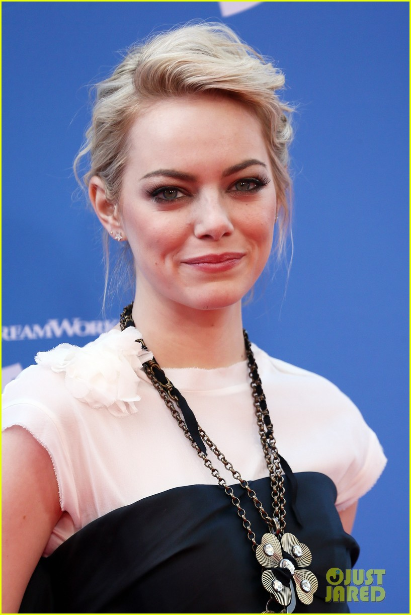emma stone the croods premeire 02