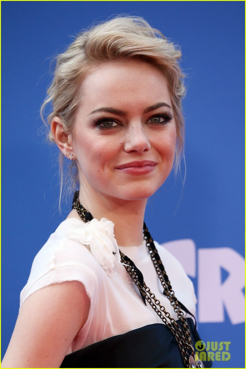 emma stone the croods premeire 06