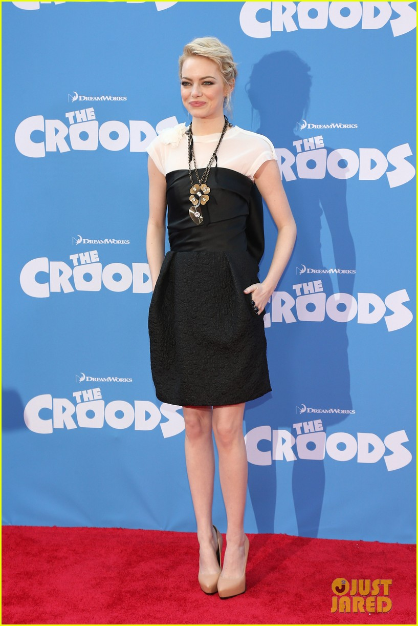 emma stone the croods premeire 08