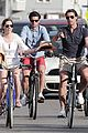 hilary swank laurent fleury bike riding duo 02