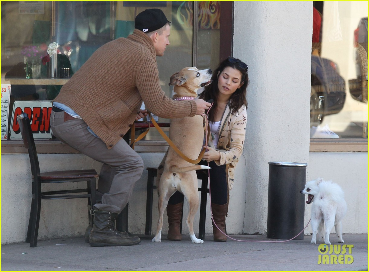 channing tatum jenna dewan lunch coffee date 13