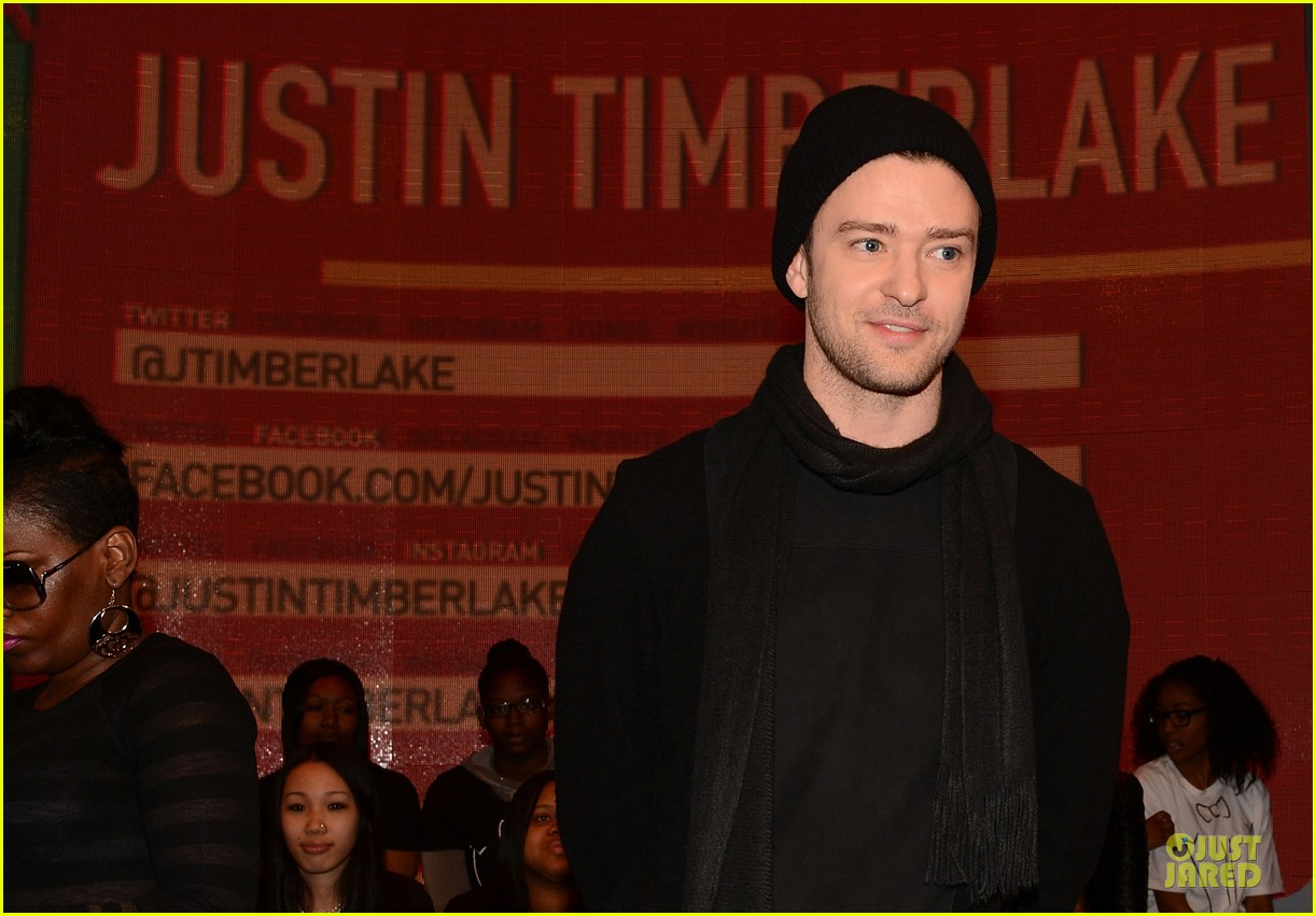 justin timberlake record release party airs on cw next week 15