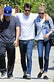 emily vancamp joshua bowman fratelli cafe couple 01