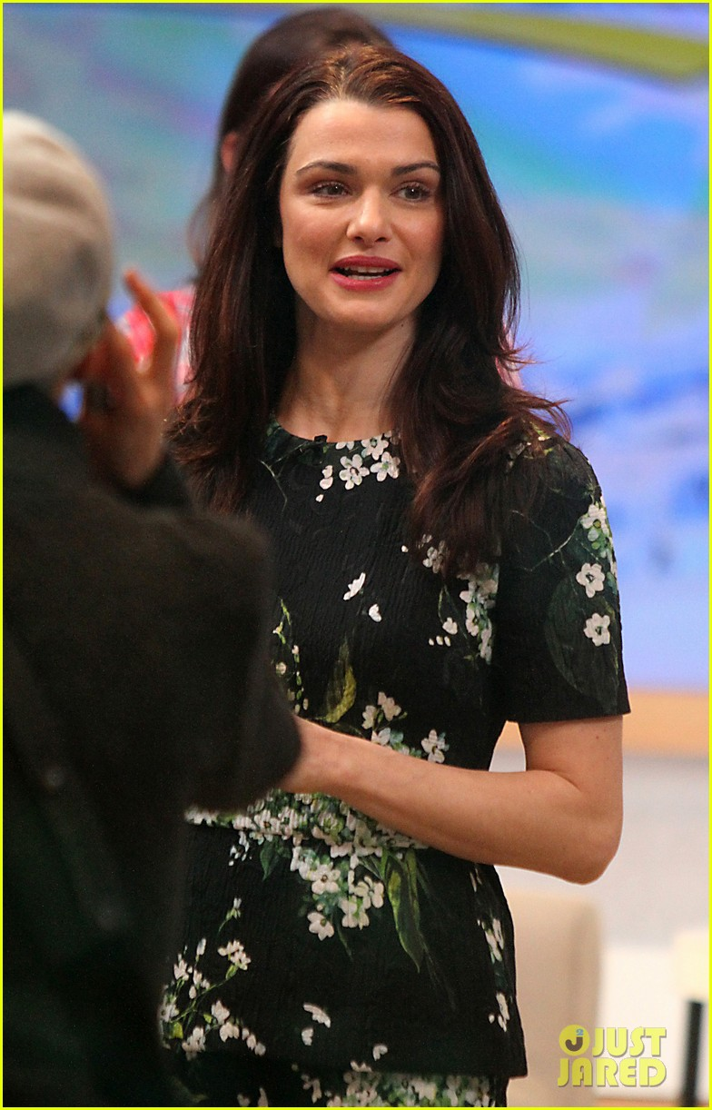rachel weisz good morning america appearance 09