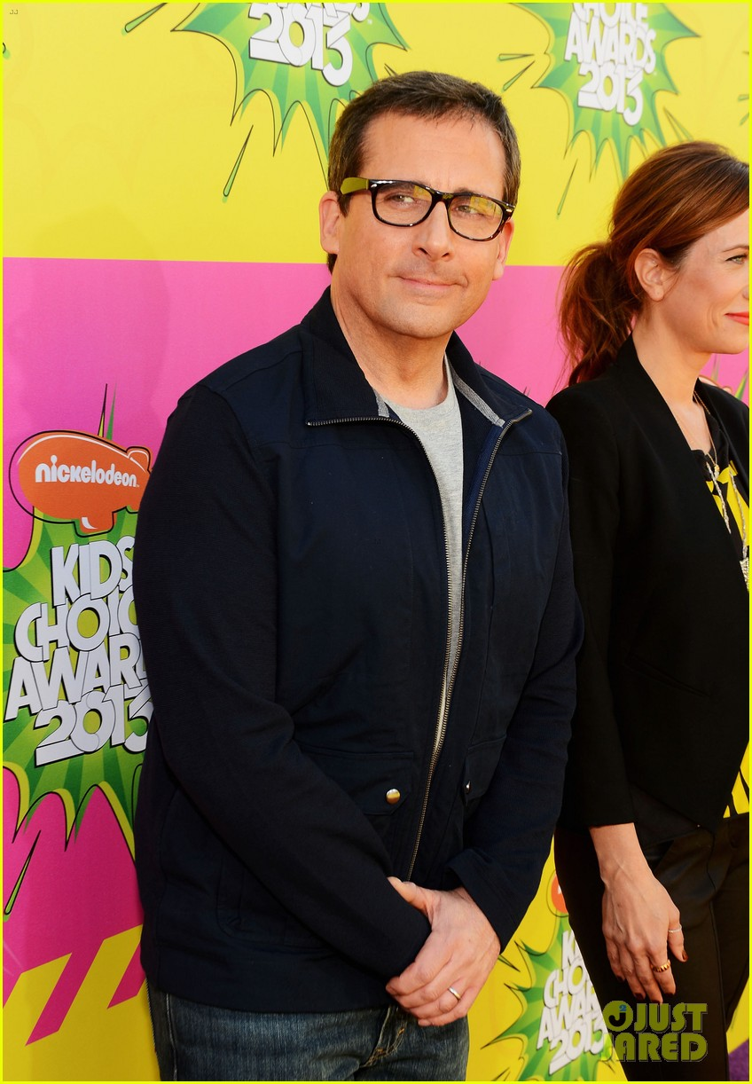 kristen wiig steve carell kids choice awards 2013 07