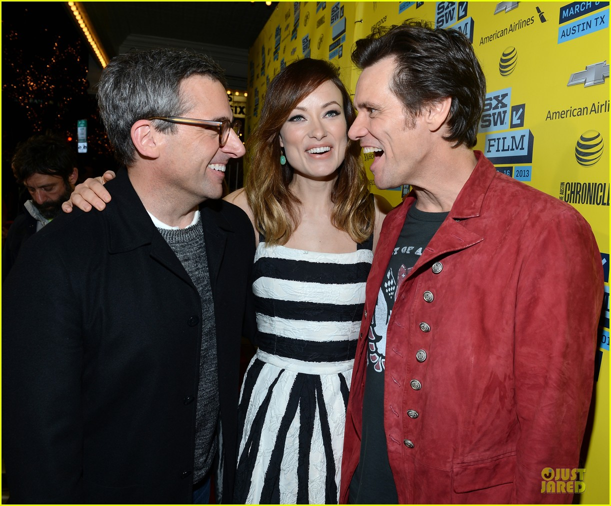 olivia wilde jim carrey the incredible burt wonderstone sxsw screening 022827503