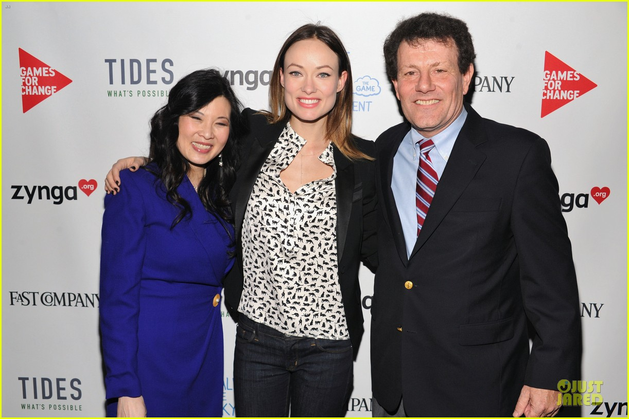 olivia wilde america ferrera half the sky movement event 03