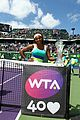 serena williams sony open victory portraits 08