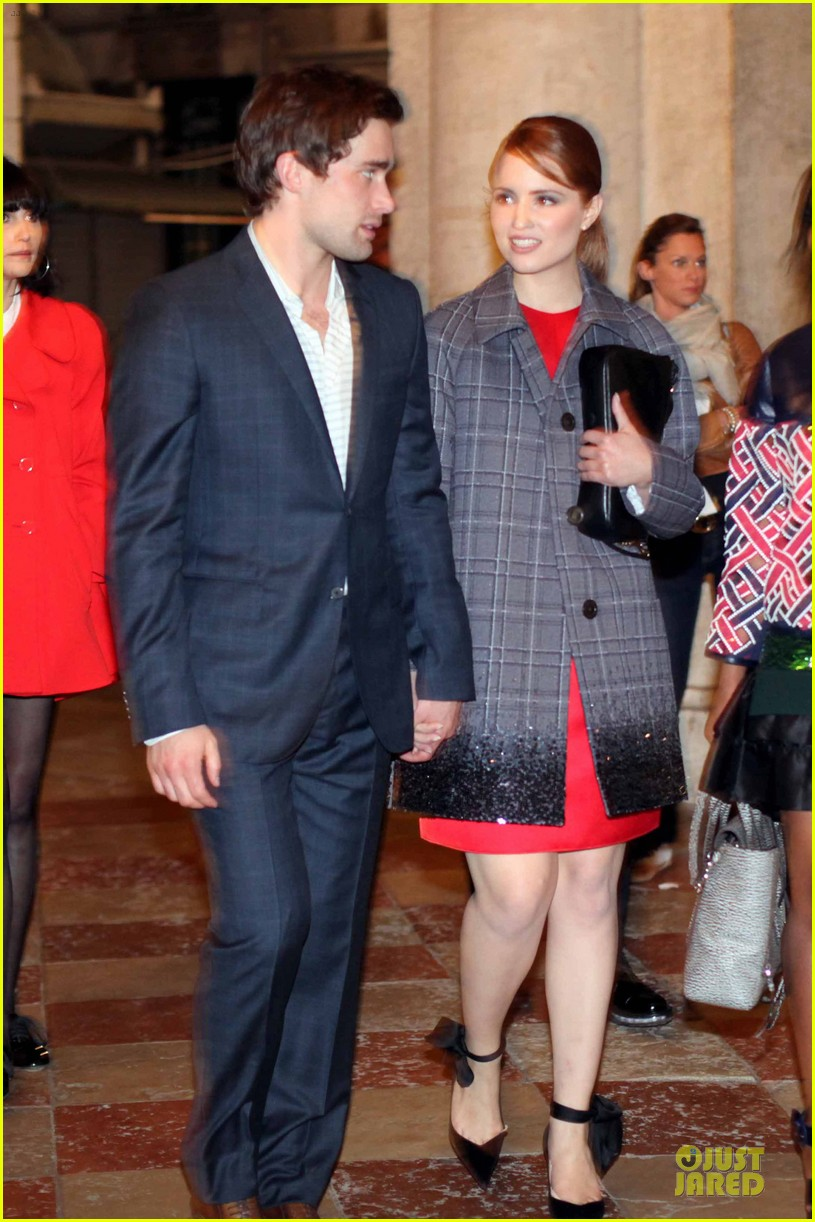 dianna agron christian cooke louis vuitton store opening 072854058
