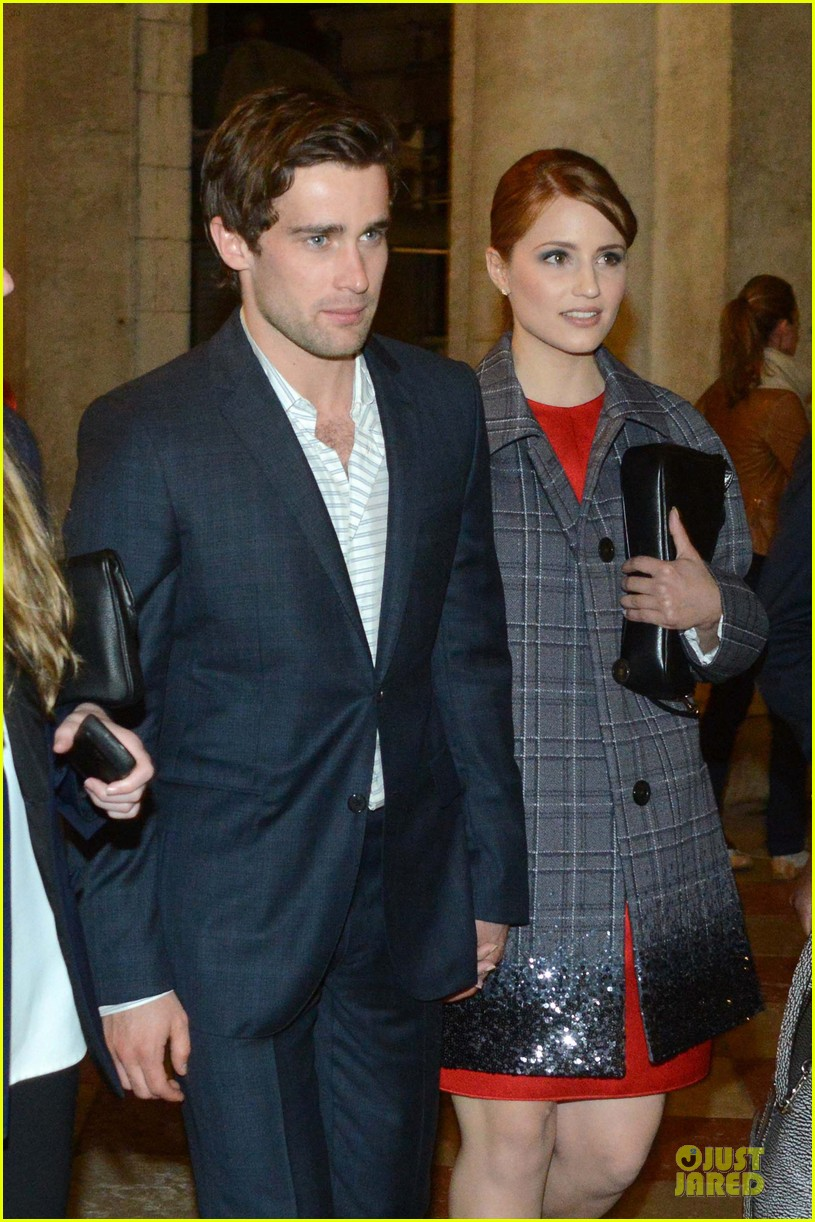 dianna agron christian cooke louis vuitton store opening 142854065