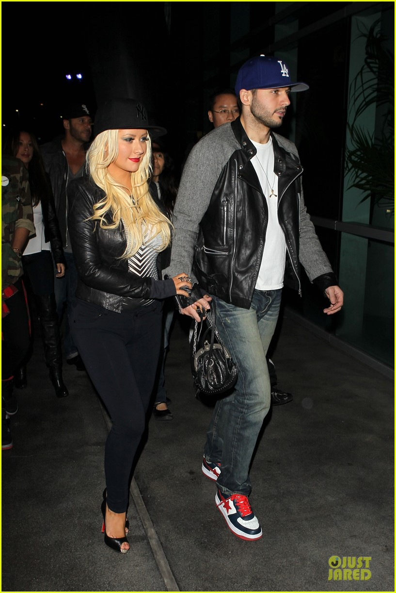 christina aguilera matthew rutler rihanna diamond world tour date 03