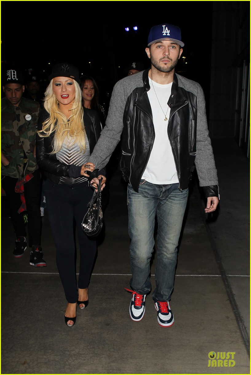 christina aguilera matthew rutler rihanna diamond world tour date 15