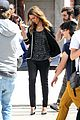 jessica alba commercial shooting in santa monica 25