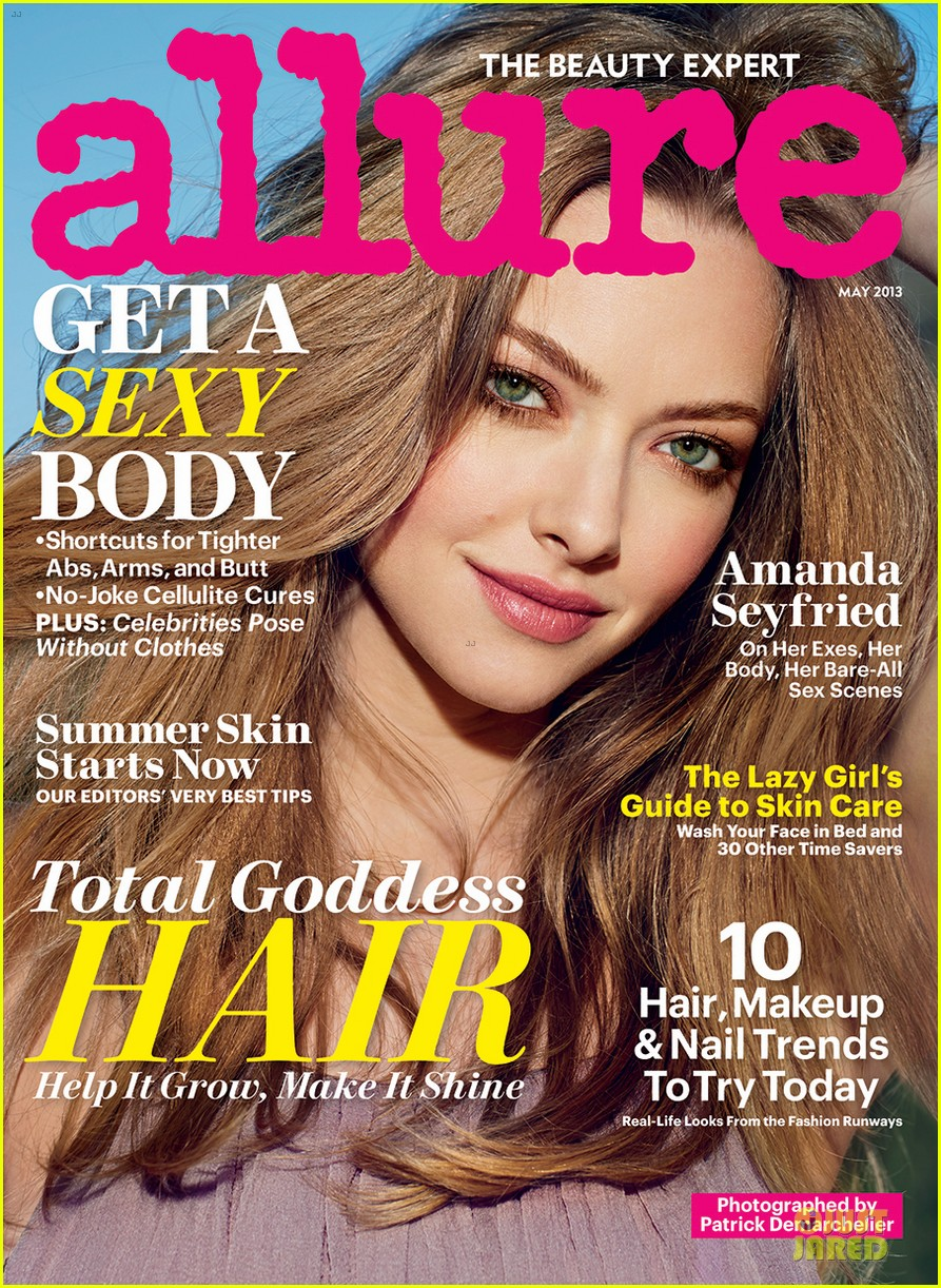 amanda seyfried covers allure magazine nude issue 03