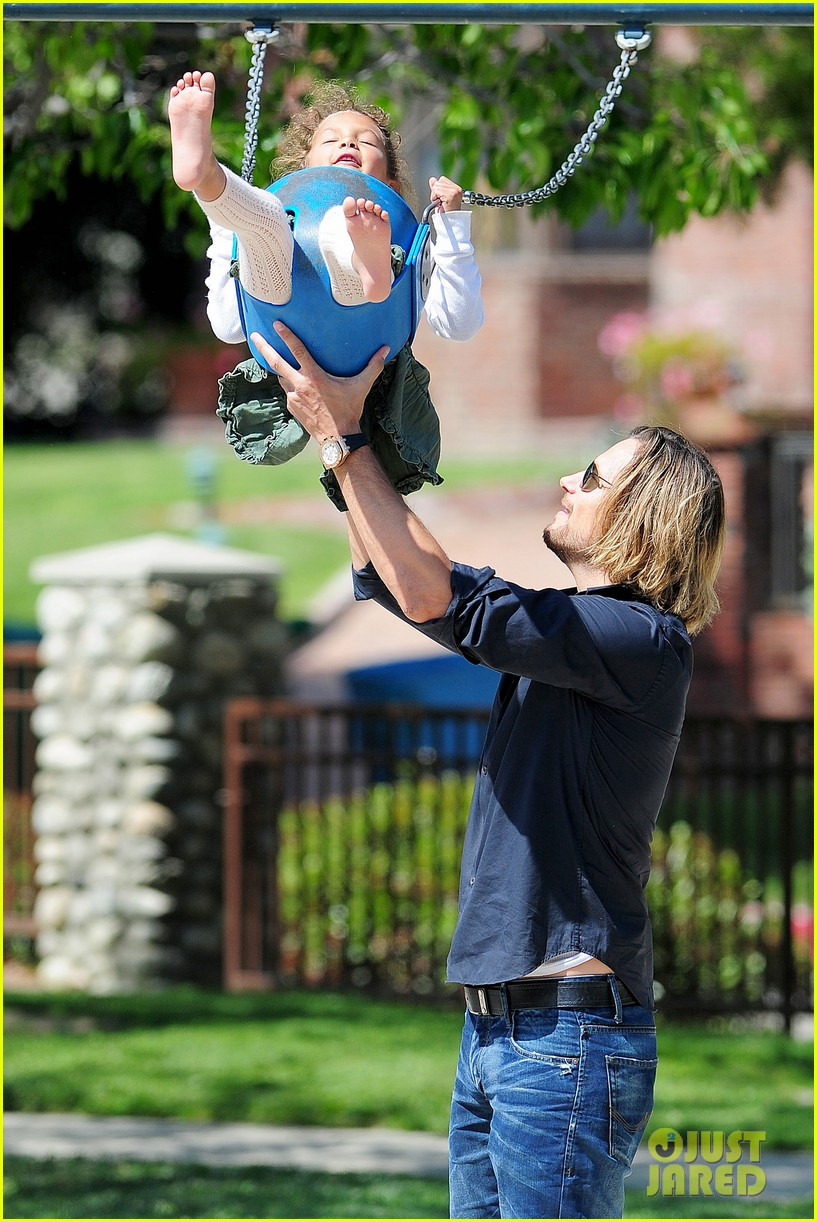 gabriel aubry park playtime with nahla 04
