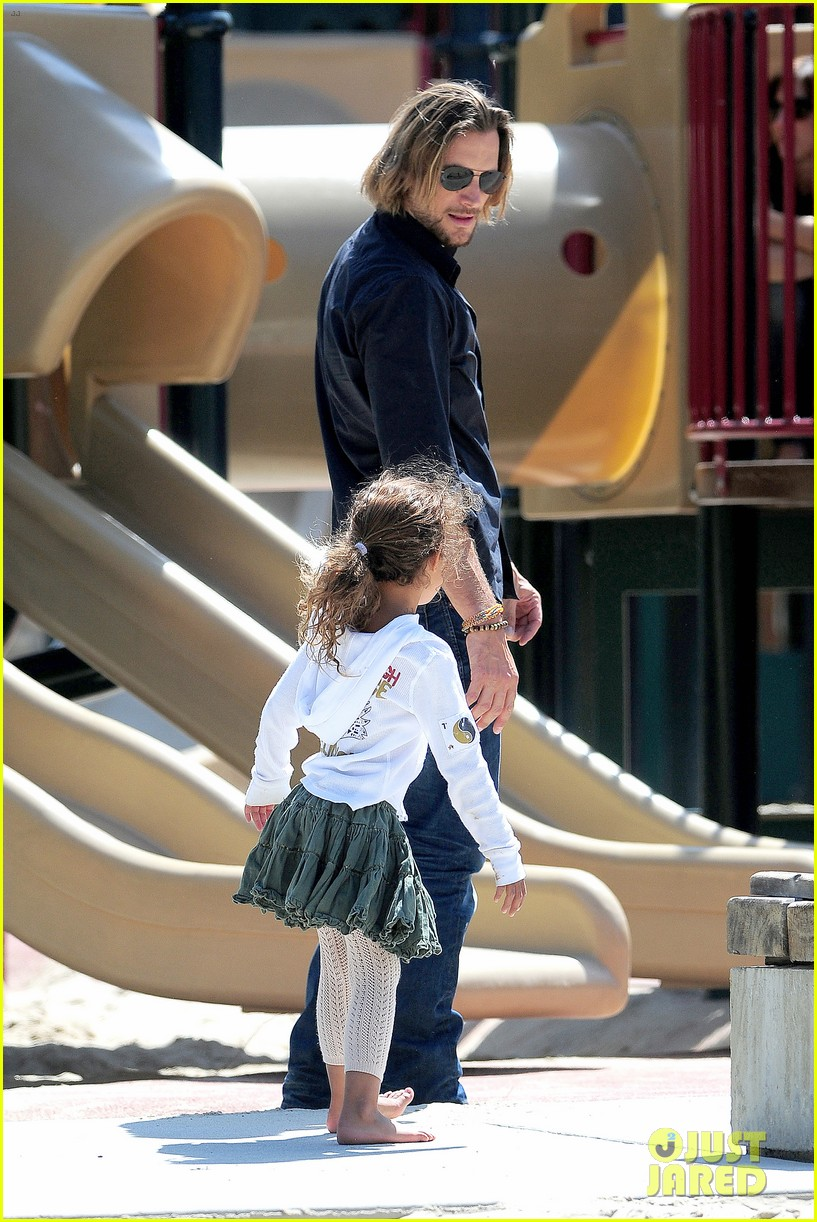 gabriel aubry park playtime with nahla 20