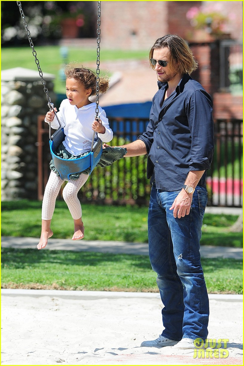 gabriel aubry park playtime with nahla 272858361