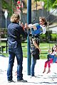 gabriel aubry park playtime with nahla 14