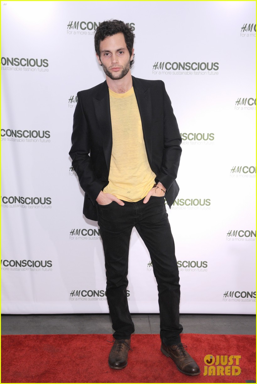 penn badgley victoria justice hm collection launches 11