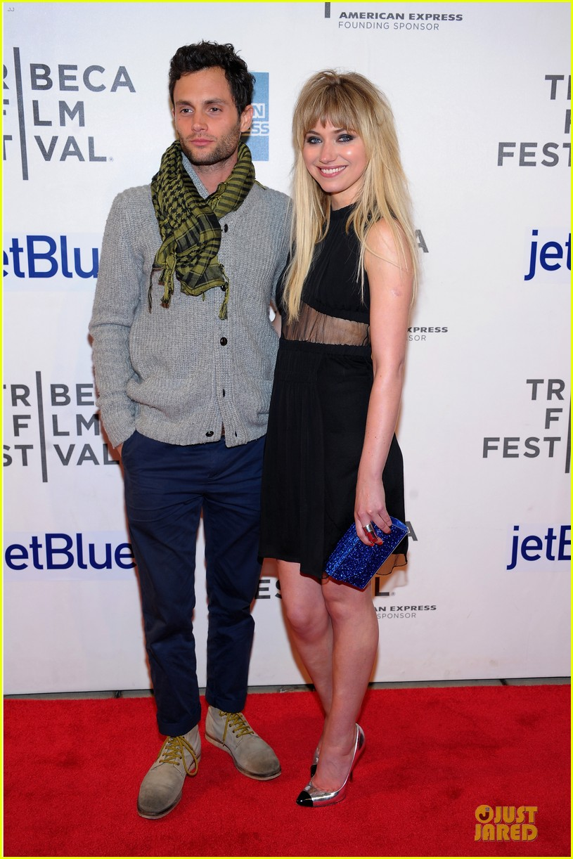 penn badgley imogen poots greetings from tim buckley tribeca premiere 172856765