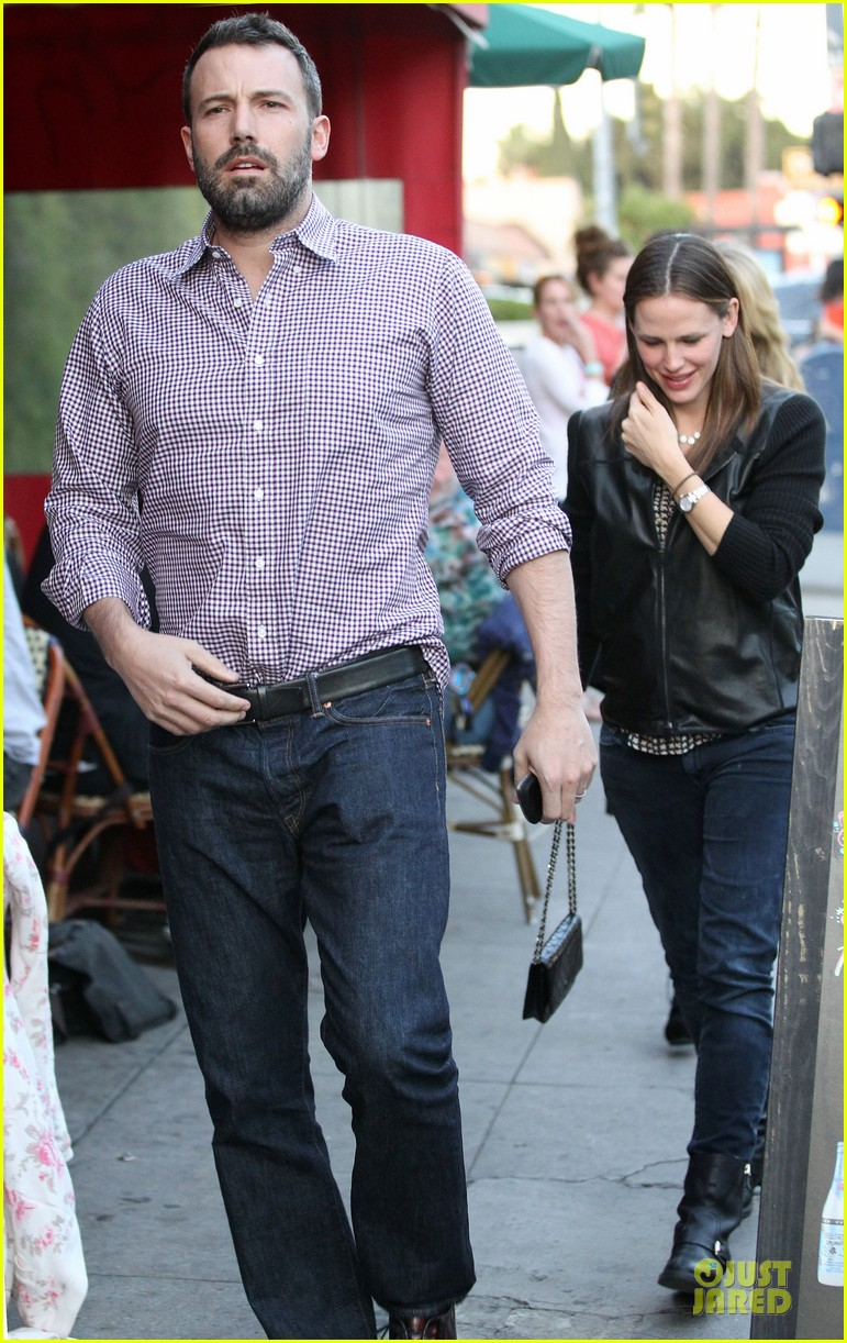 jennifer garner ben affleck hollywood dinner date 012854068