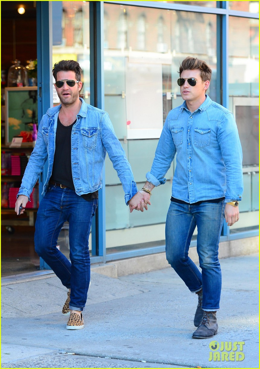 nate berkus jeremiah brent kiss kiss in new york 142852334