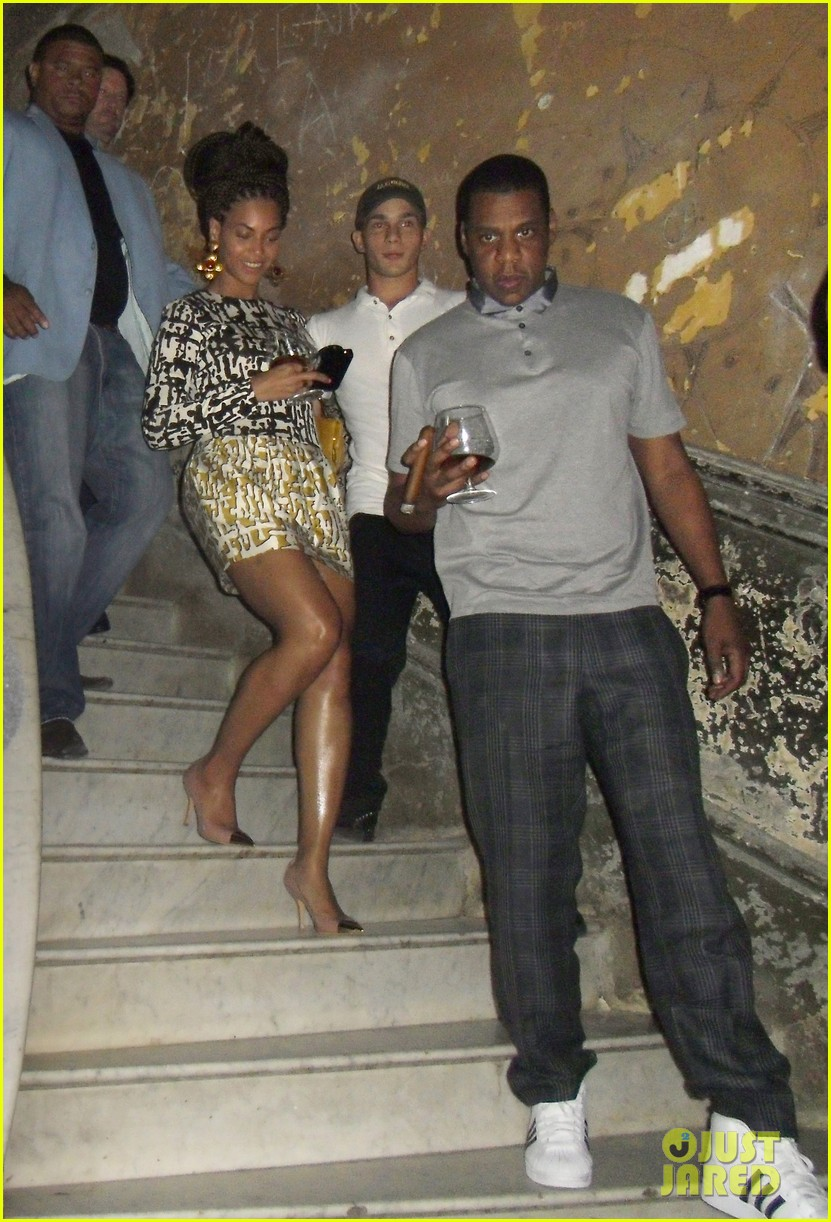 beyonce jay z celebrate fifth anniversary in havana 03