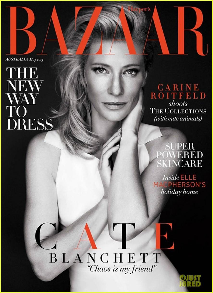 cate blanchett covers harper bazaar australia magazine may 2013 01