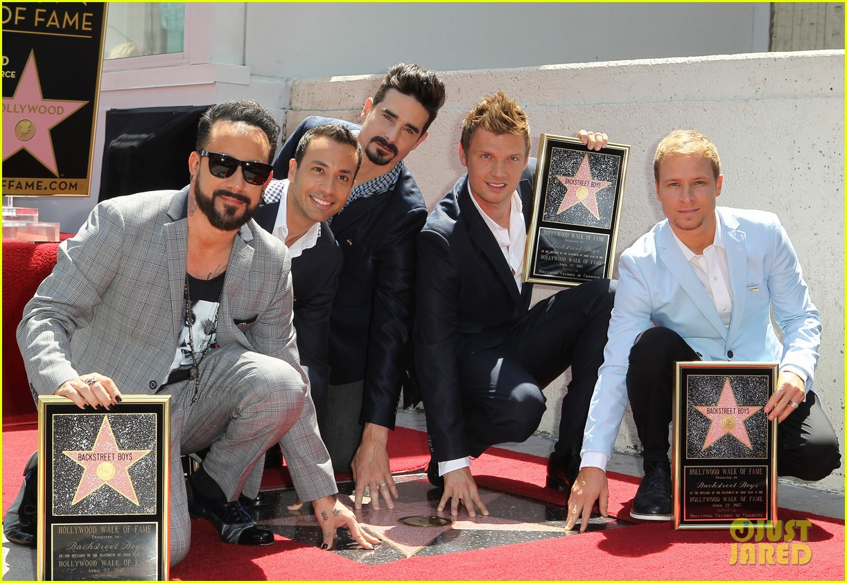 backstreet boys hollywood walk of fame ceremony 17