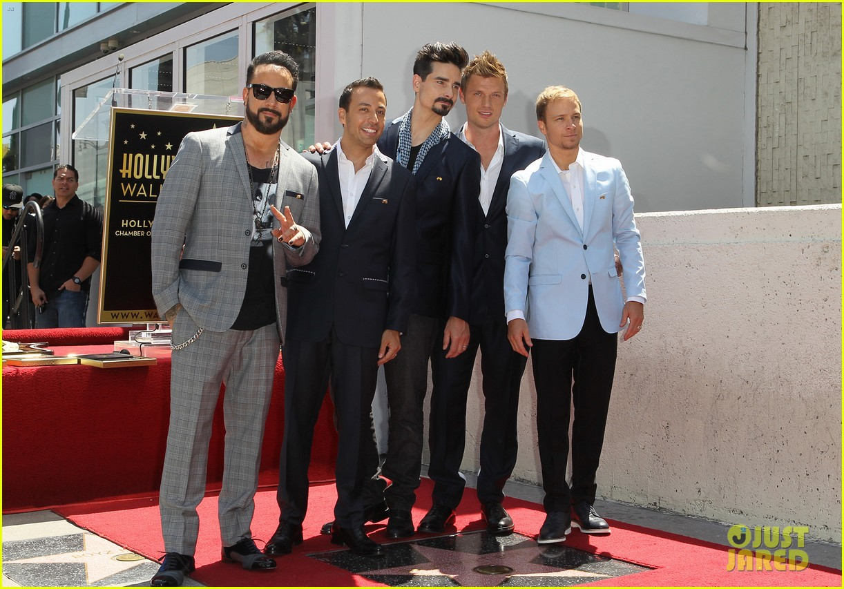 backstreet boys hollywood walk of fame ceremony 182855903