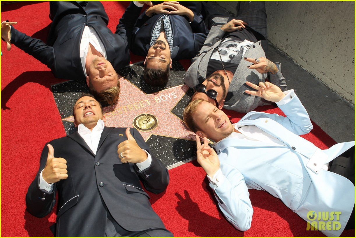 backstreet boys hollywood walk of fame ceremony 25