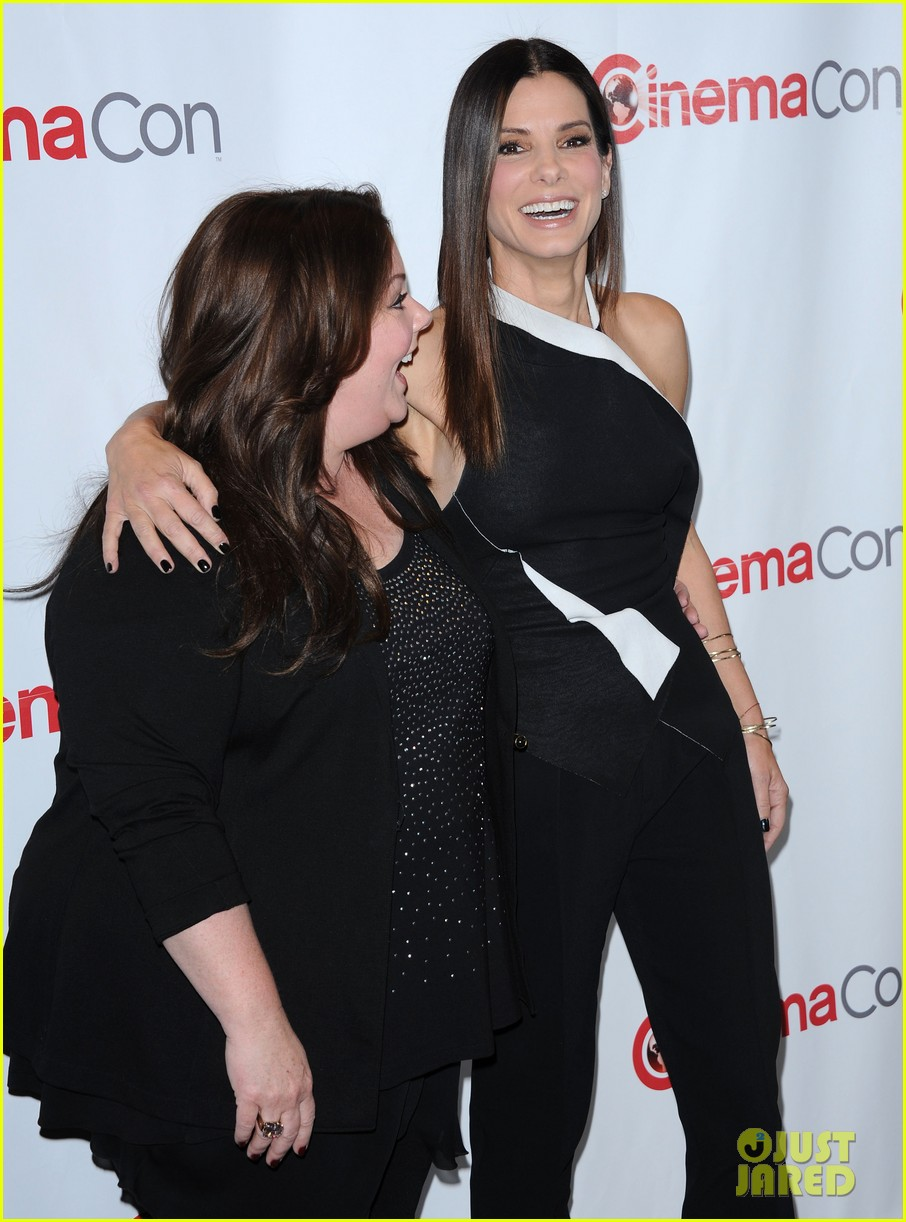 sandra bullock melissa mccarthy the heat at cinemacon 13