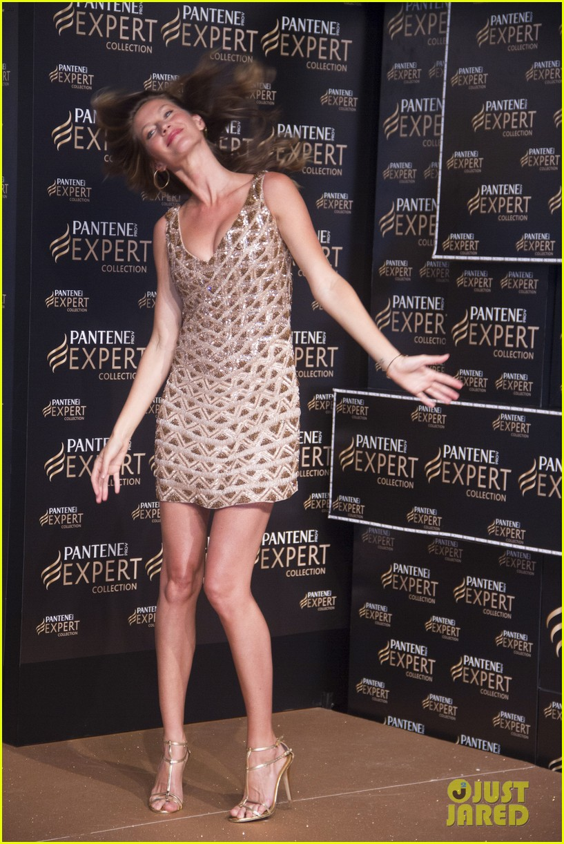 gisele bundchen pantene expert photo call 032842732