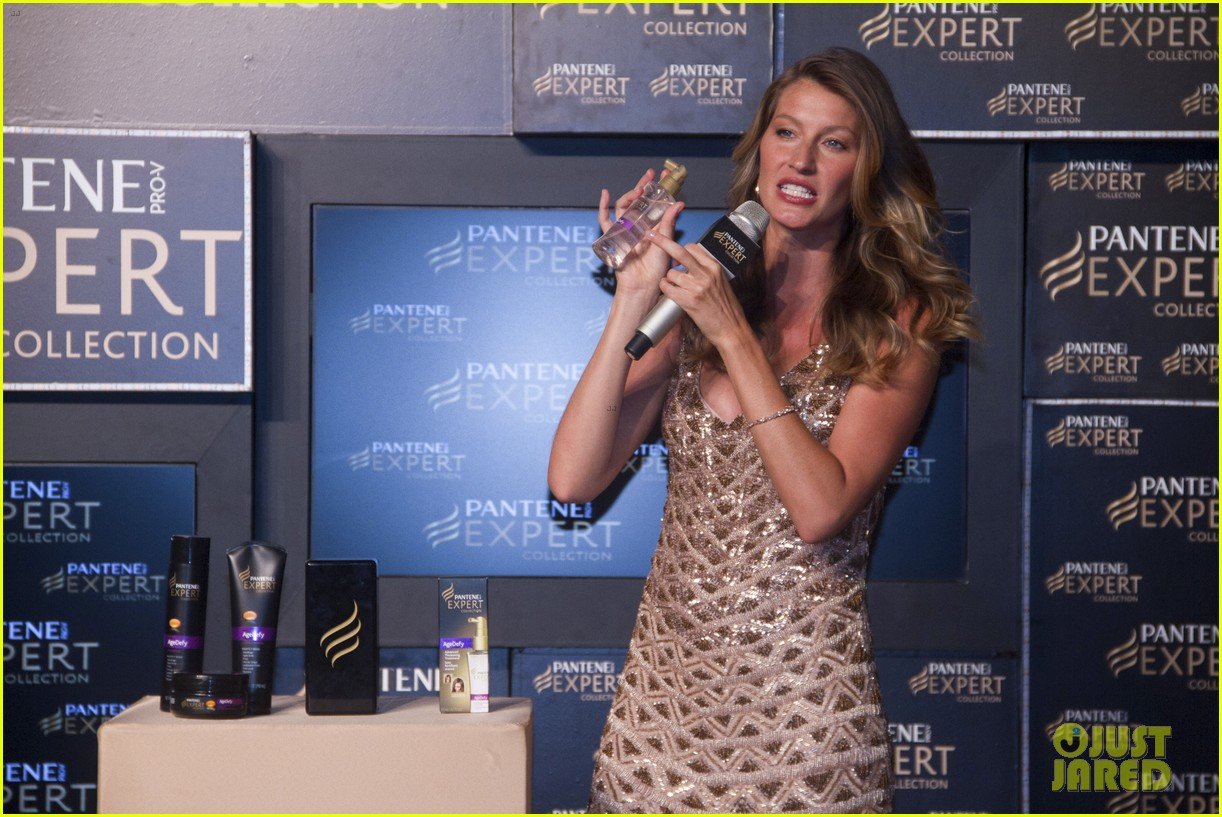 gisele bundchen pantene expert photo call 042842733