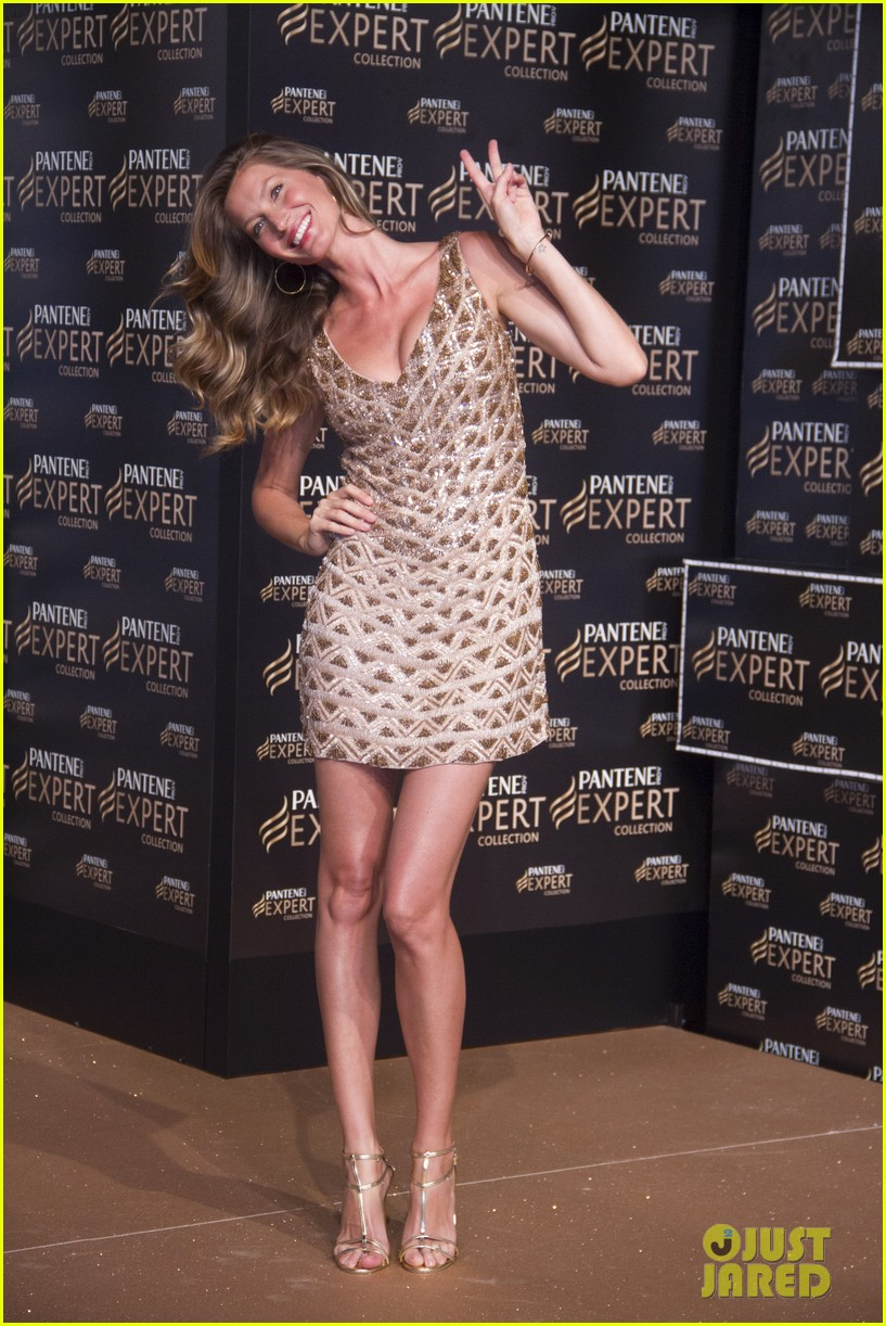 gisele bundchen pantene expert photo call 062842735
