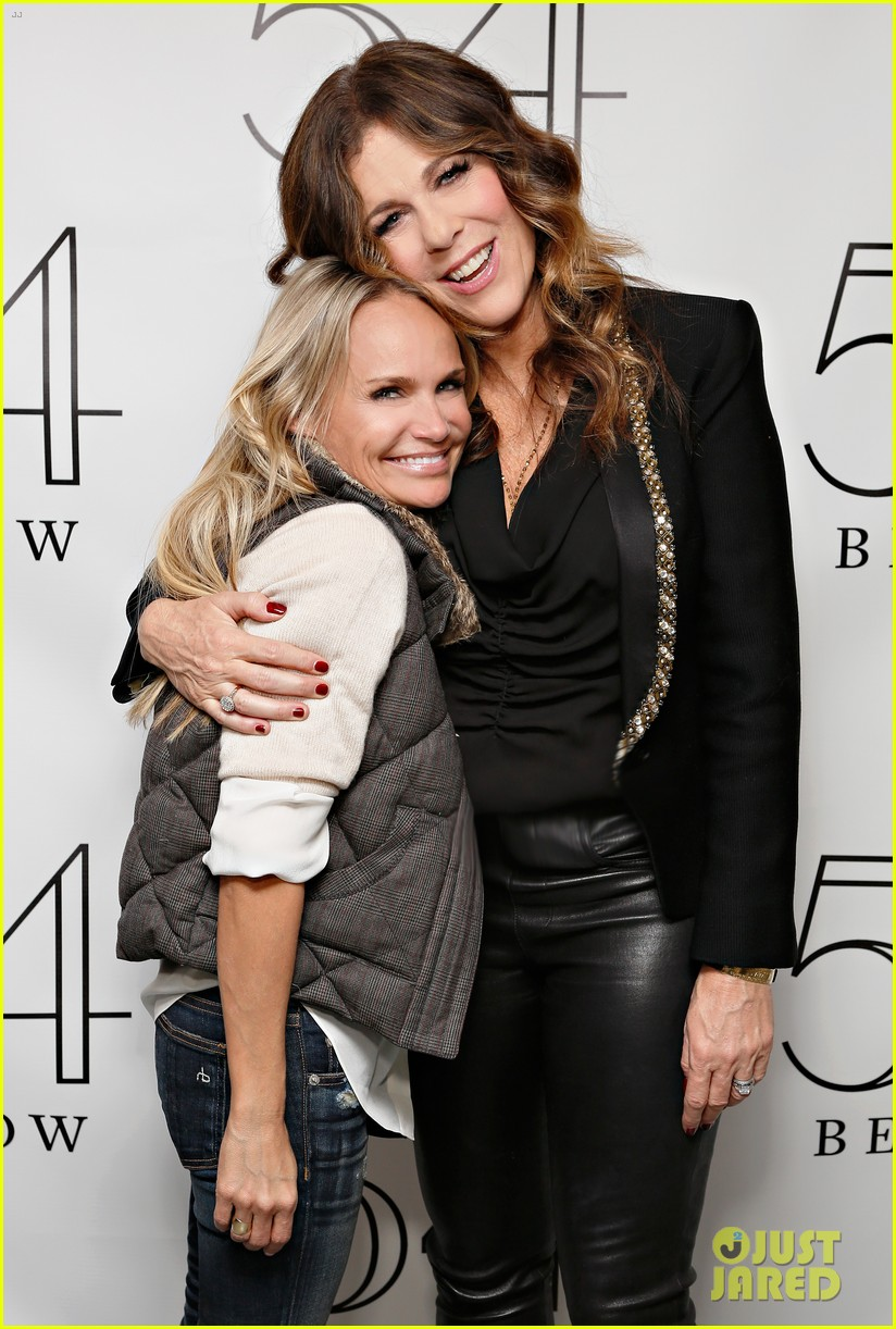 allison williams kristin chenoweth rita wilson at 54 below 04