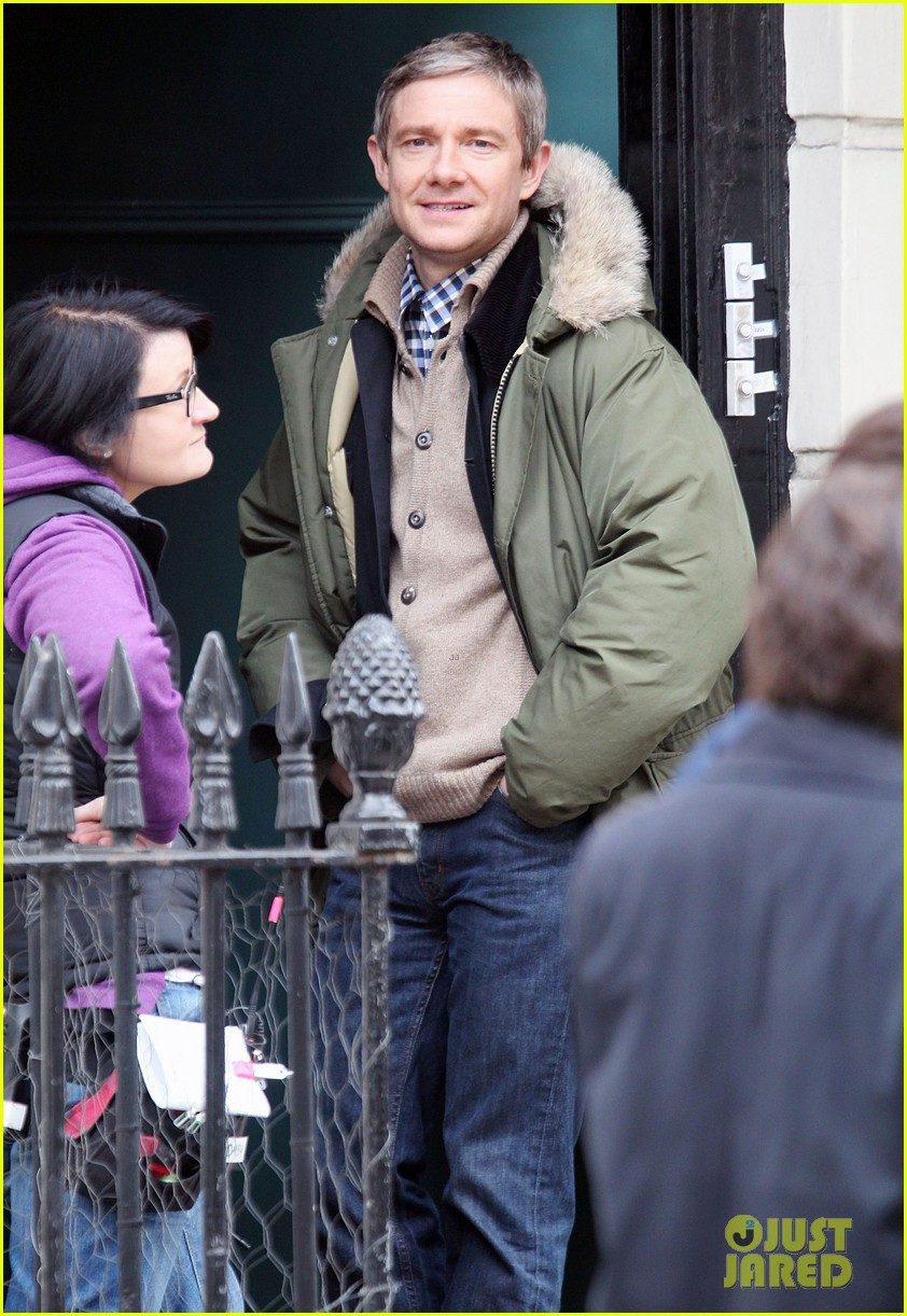 benedict cumberbatch sherlock set with martin freeman 13
