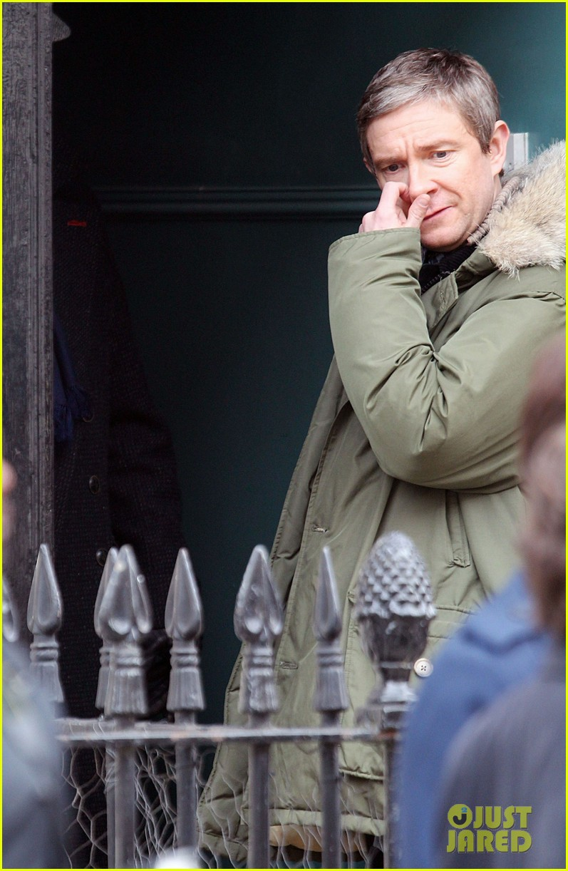 benedict cumberbatch sherlock set with martin freeman 14