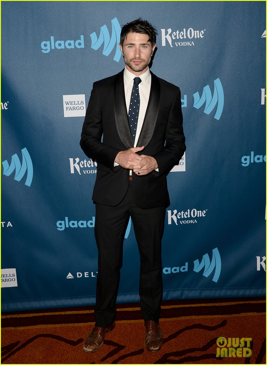 matt dallas blue hamilton glaad media awards 2013 01