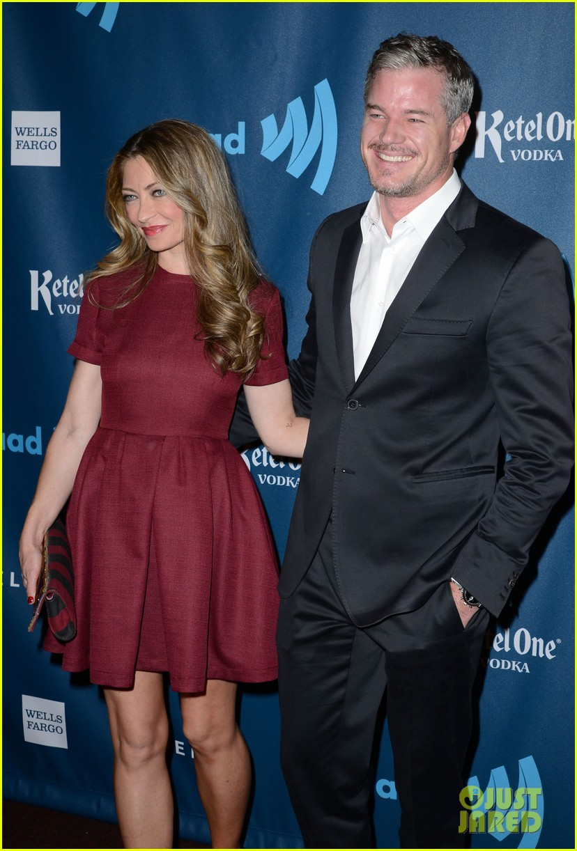 eric dane rebecca gayheart glaad media awards 2013 172854558