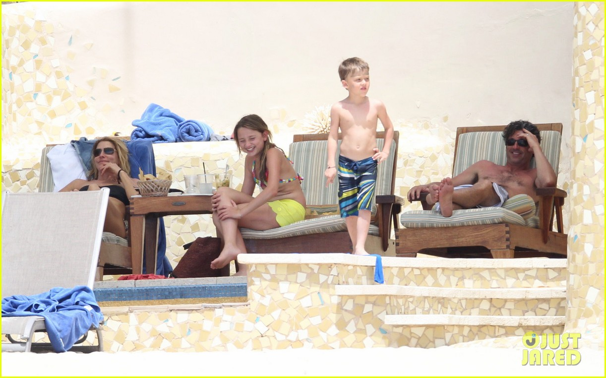 patrick dempsey shirtless mexico vacation with the family 17