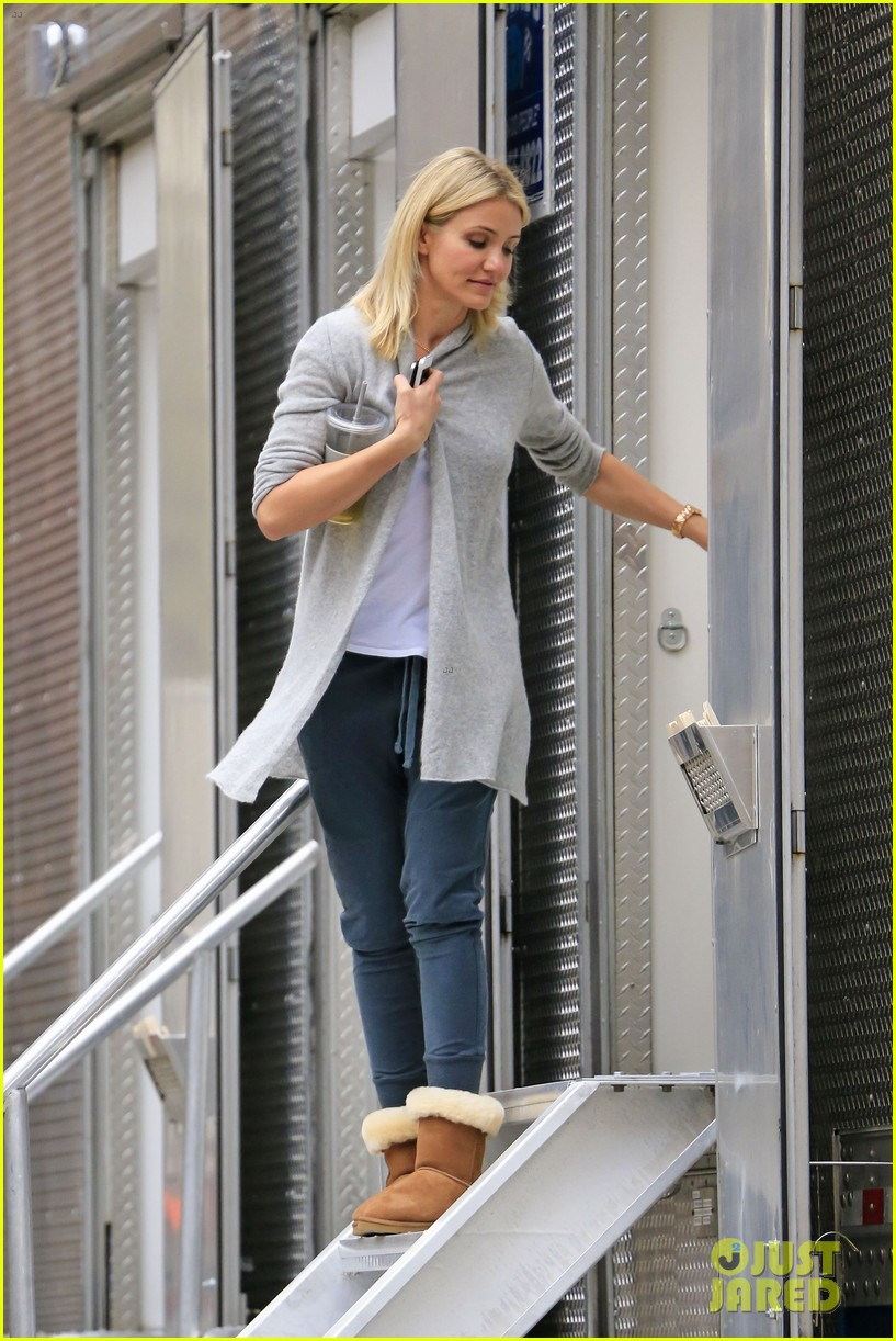 cameron diaz the other woman set break 03
