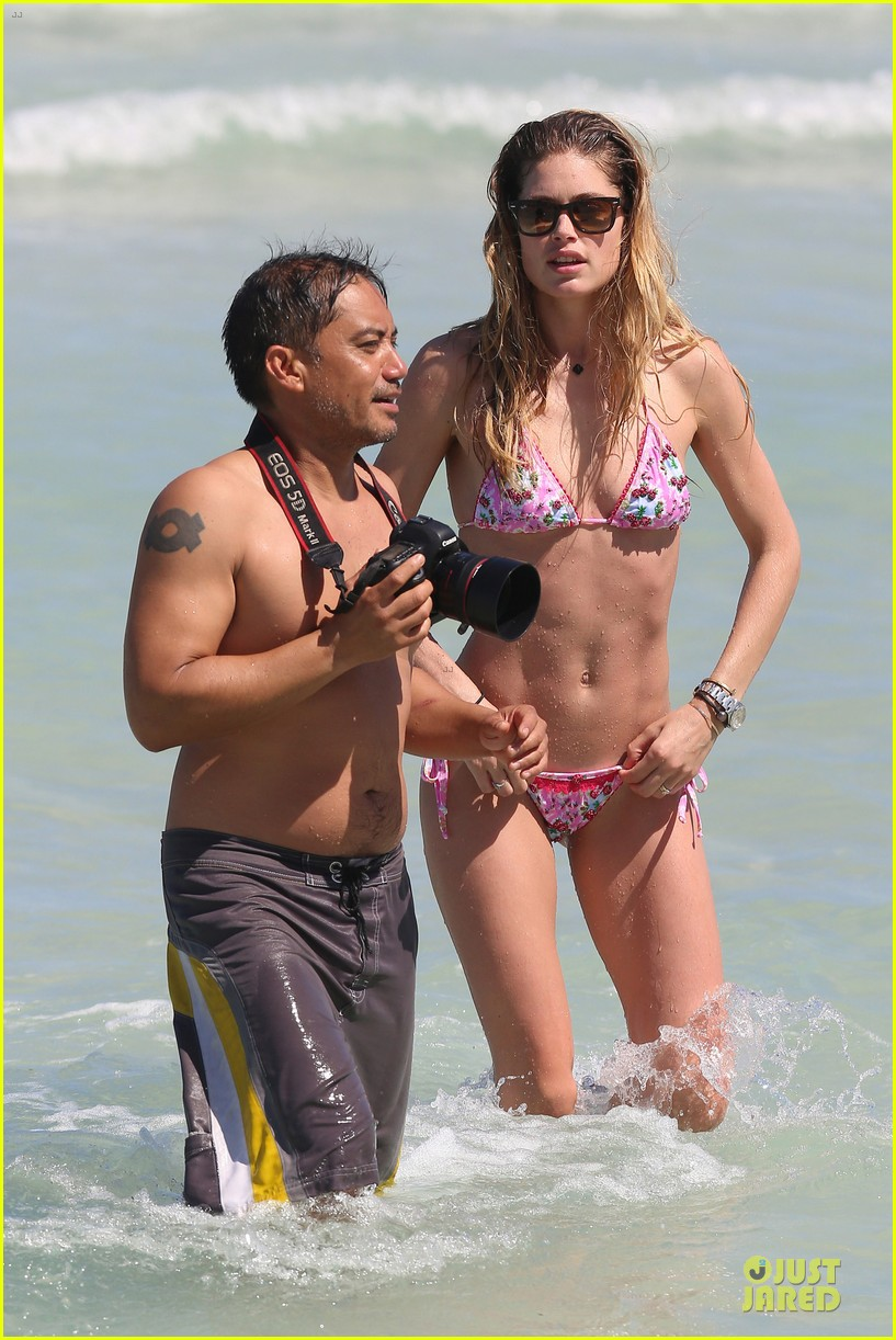 doutzen kroes bikini photo shoot with sunnery james 162860947