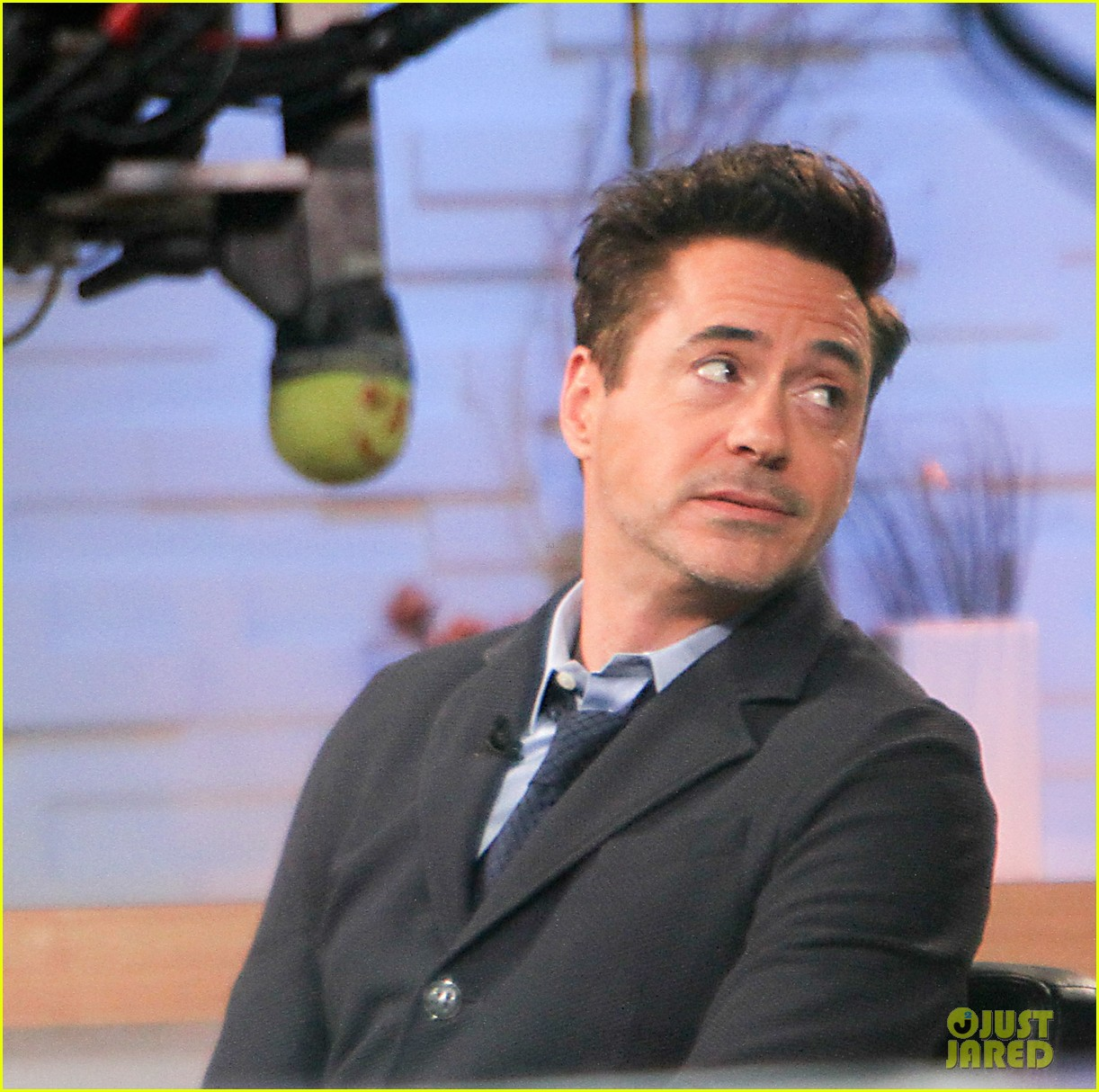 robert downey jr tobey maguire good morning america guys 08