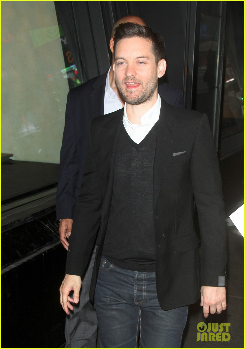 robert downey jr tobey maguire good morning america guys 092861263