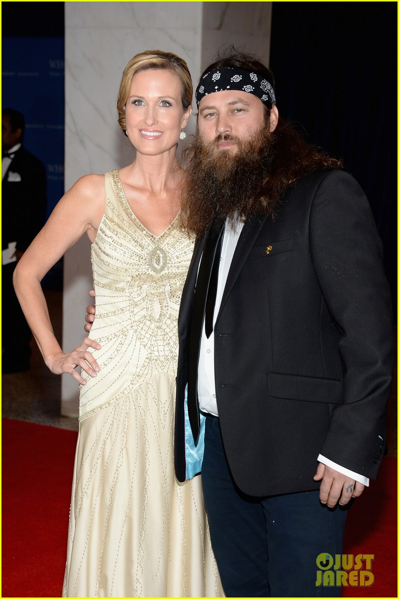 duck dynasty stars white house correspondents dinner 2013 02