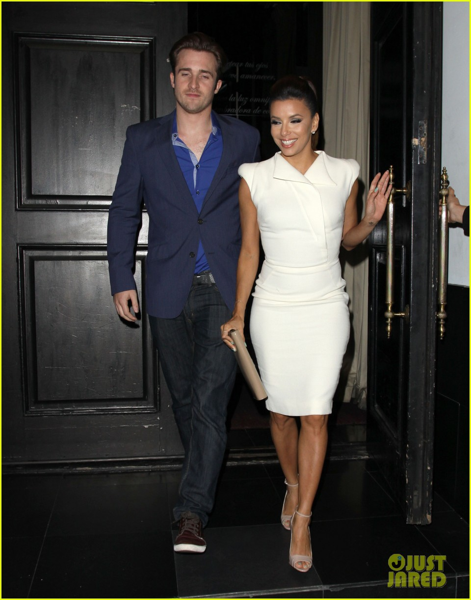 eva longoria beso dinner with ernesto arguello 072857242