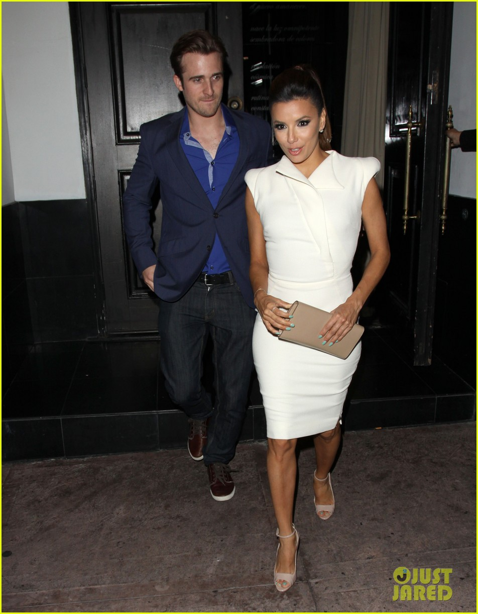 eva longoria beso dinner with ernesto arguello 112857246